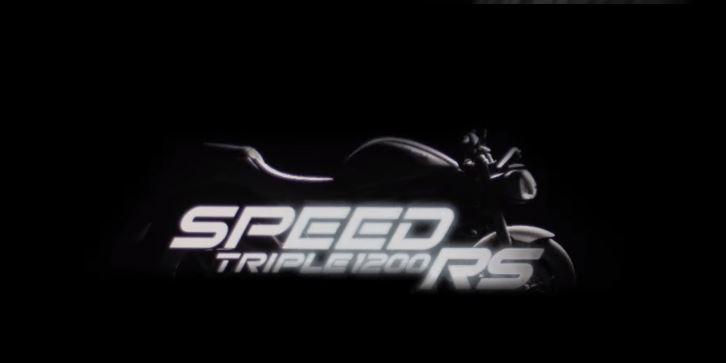 Triumph Speed Triple 1200 RS 2021 выходит из обложки в новом тизере