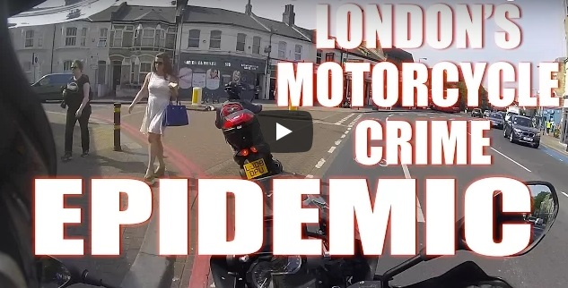 London's motorcycle crime epidemic