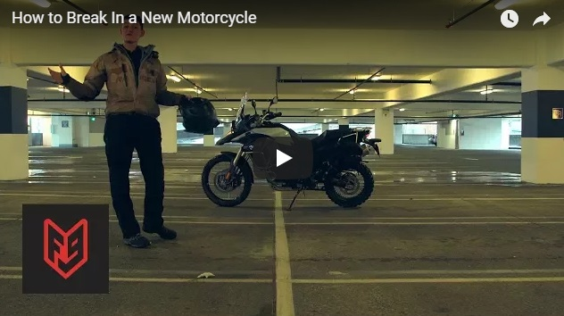 Should you break in a new motorcycle?