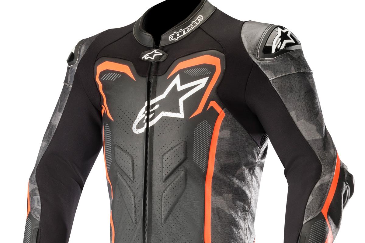 New GP Plus Camo suit from Alpinestars