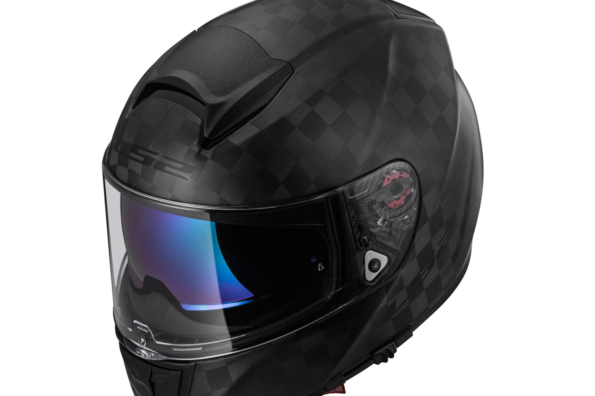 Brand new low carbon helmet from LS2