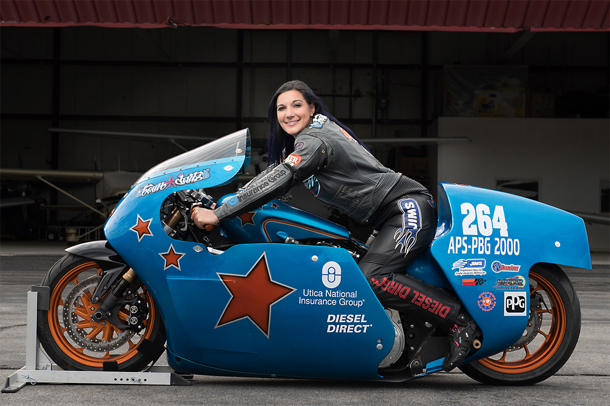 Shoot The Salt – Fastest woman on a V-twin