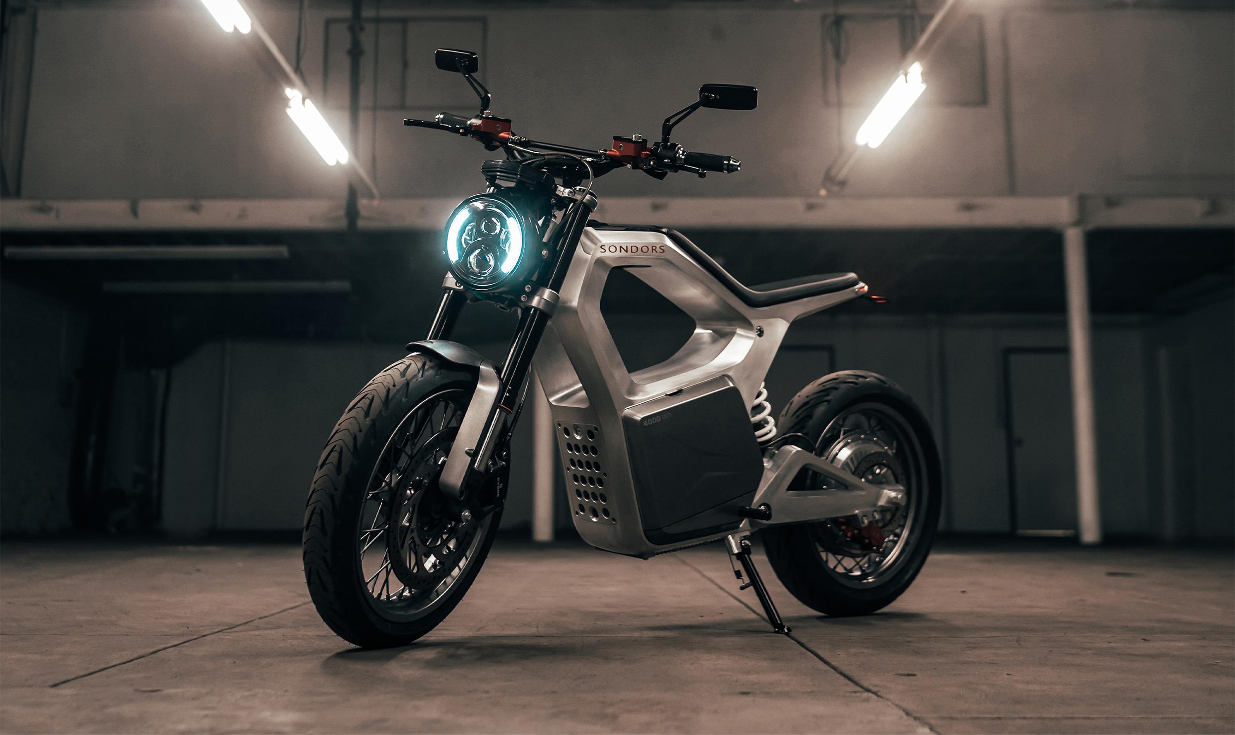 Sondors Metacycle — еще один новый электрический мотоцикл на рынке