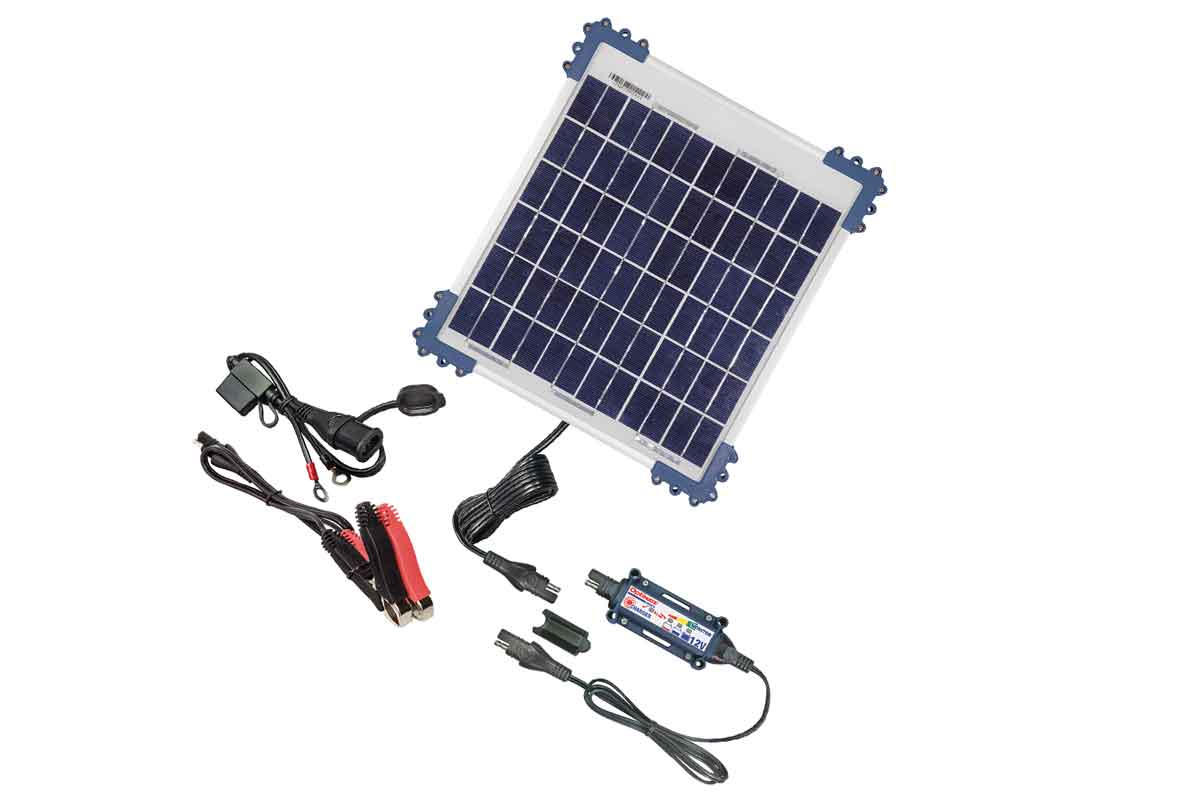 New solar-powered charger from OptiMate