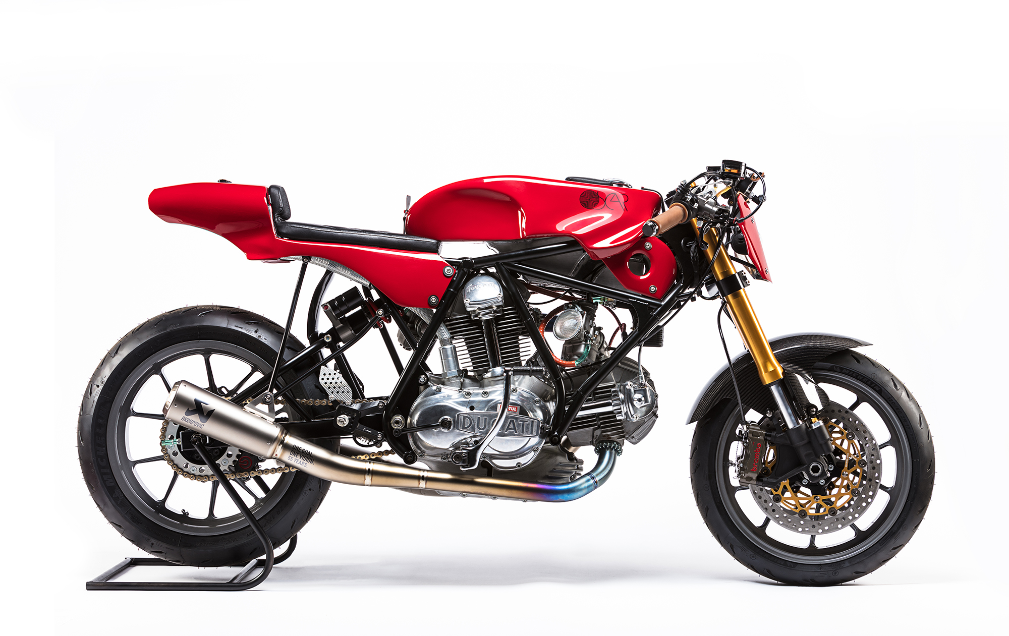 Alpinestars celebrate 55th birthday with custom Ducati