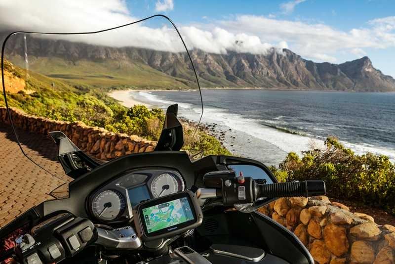 New quad-core TomTom Rider 550 sat-nav