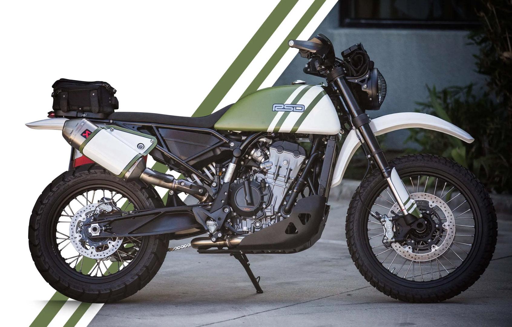 Городское нападение |  Дизайн Роланда Сэндса и KTM 790 Adventure |  Кастомный мотоцикл