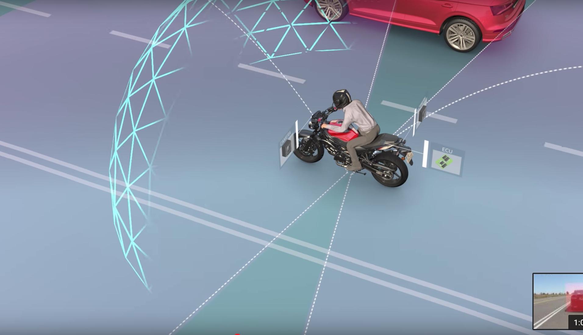 Israeli tech start-up reveals 360° bike vision