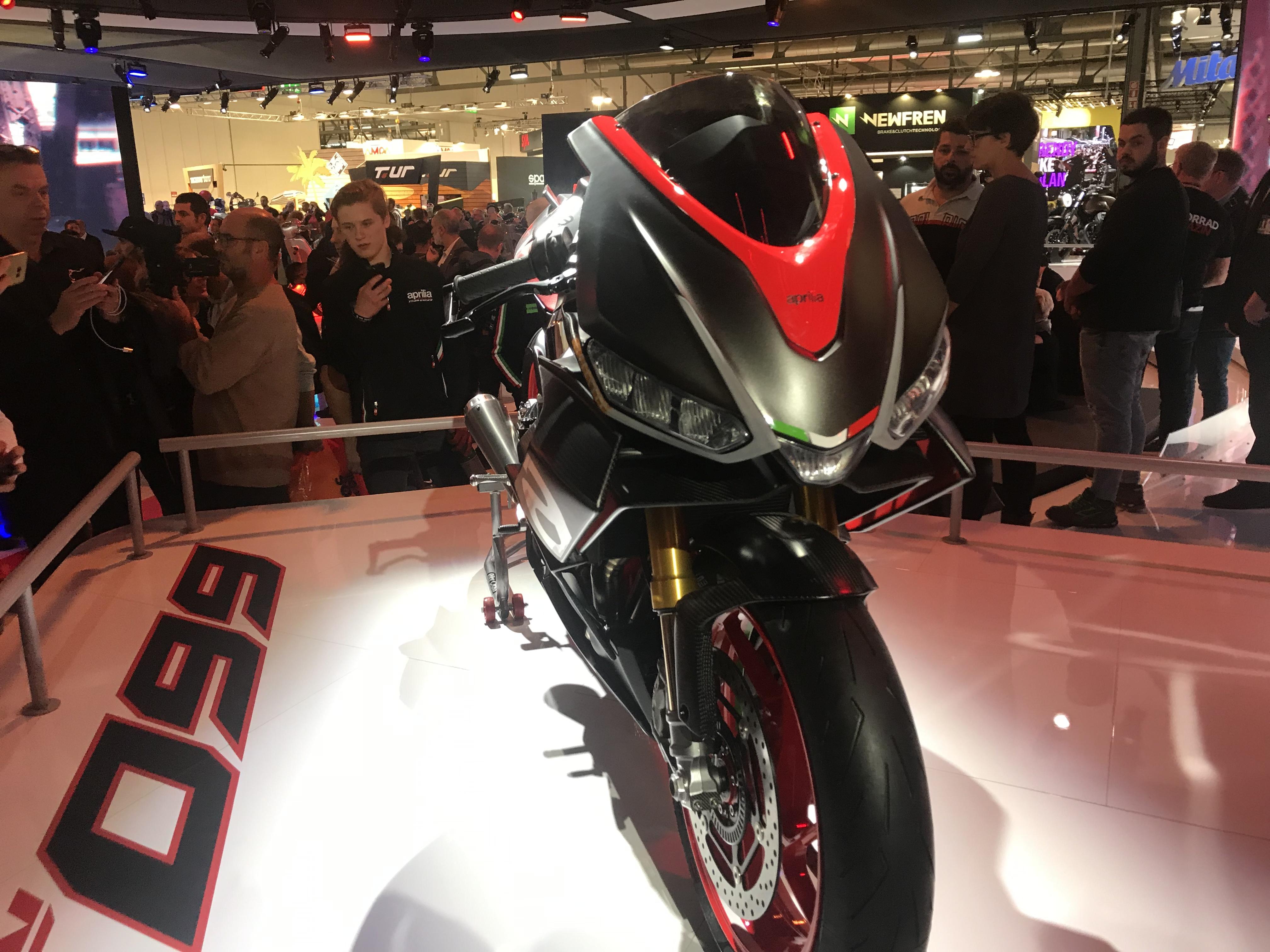Aprilia RS660 Concept: EICMA 2018