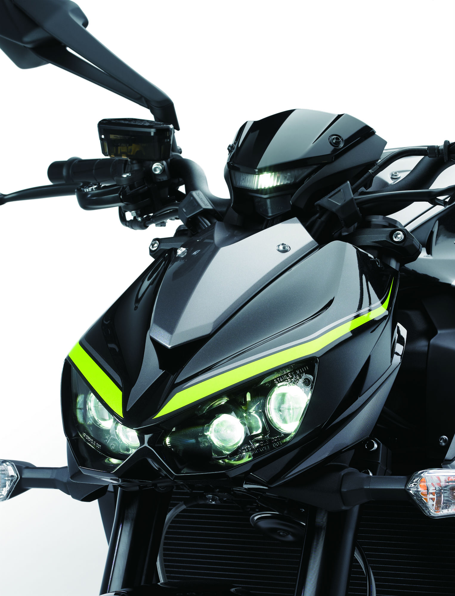 New Kawasaki Z1000 R revealed