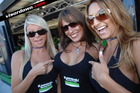 MotoGP: Pit babes grid girls of Laguna Seca, USGP