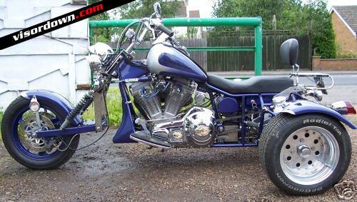 Billy Connolly S Trike For Sale On Ebay Visordown