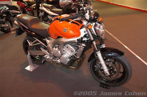 NEC 2005: Yamaha Bike Photos