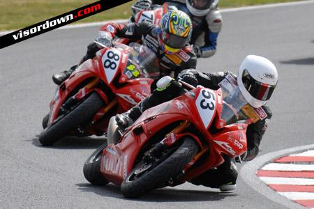 R6 Cup: Midge bags strong second at Oulton