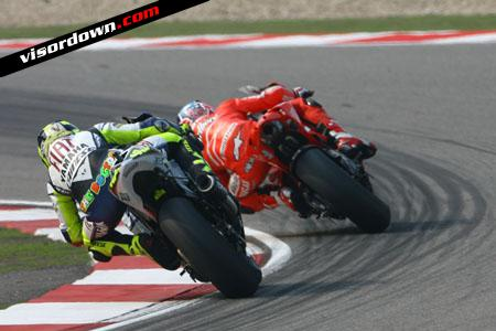 Rossi - impossible to live with Stoner's speed