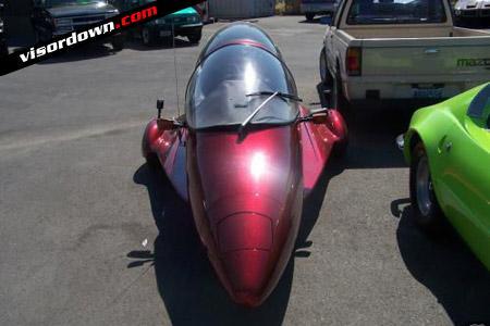 Is it a car, is it a plane? No it's a bike, allege