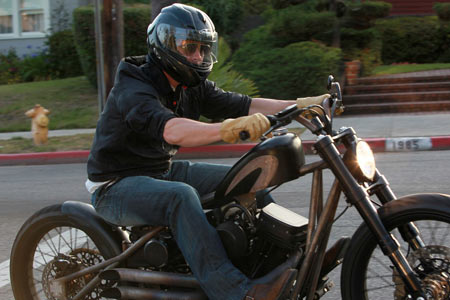 brad pitt Visordown Motorcycle News
