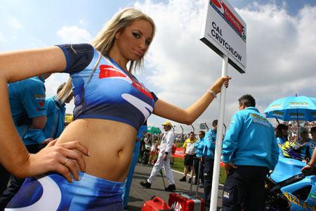 british superbike grid girls apply Visordown Motorcycle News