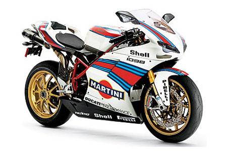 ducati 1098s martini paintjob Visordown Motorcycle News