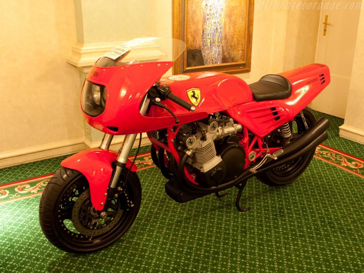 Ferrari Motorcycle Sold At Last Visordown
