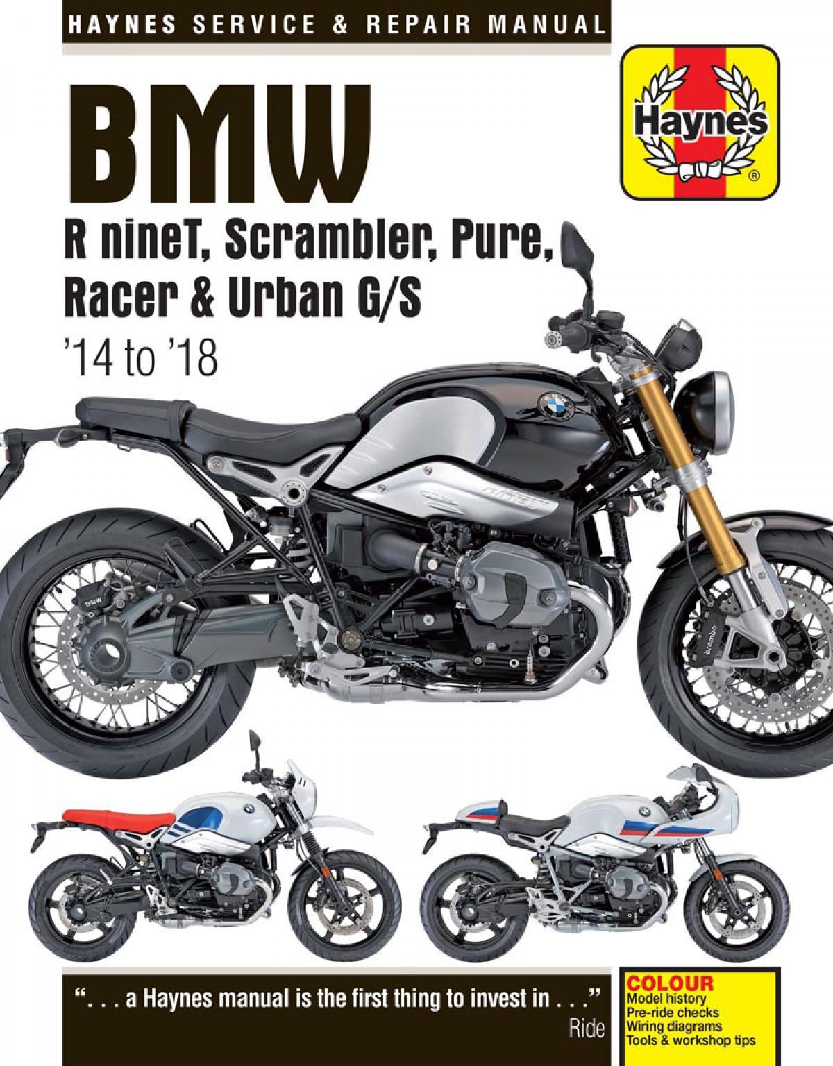 bmw r 1100 wiring diagram new haynes manual for bmw r ninet range visordown  new haynes manual for bmw r ninet range
