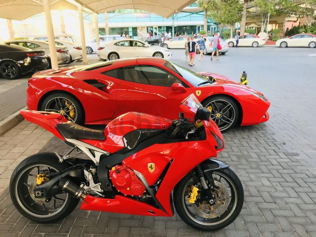 Honda Ferrari Motorcycle Up For Sale Visordown