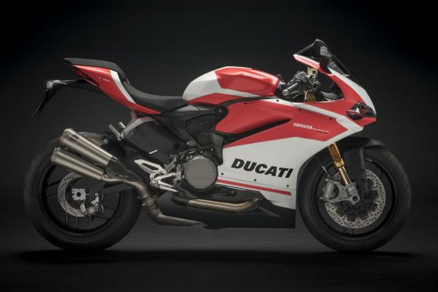 Ducati reveal special edition 959 Panigale Corse at EICMA