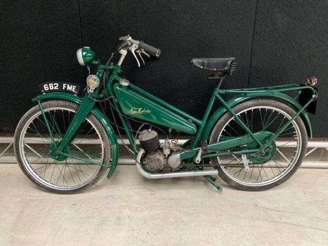 Secret treasure trove of motorbikes discovered after collector's death