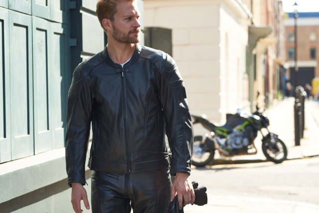 RST GT Airbag Leather Jacket