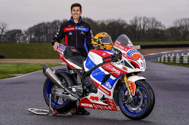 Danny Kent and Gino Rea spearhead Buildbase Suzuki BSB line-up
