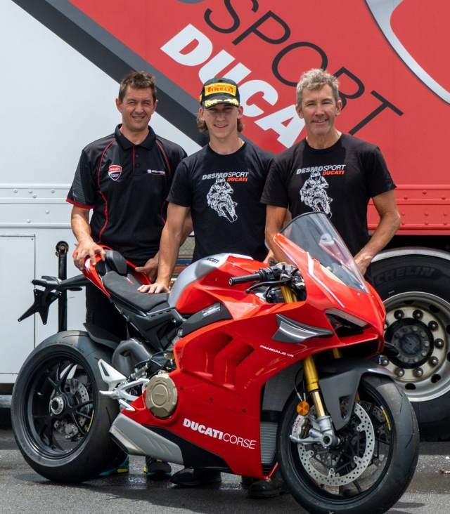 Troy Bayliss, Oli Bayliss, Ducati