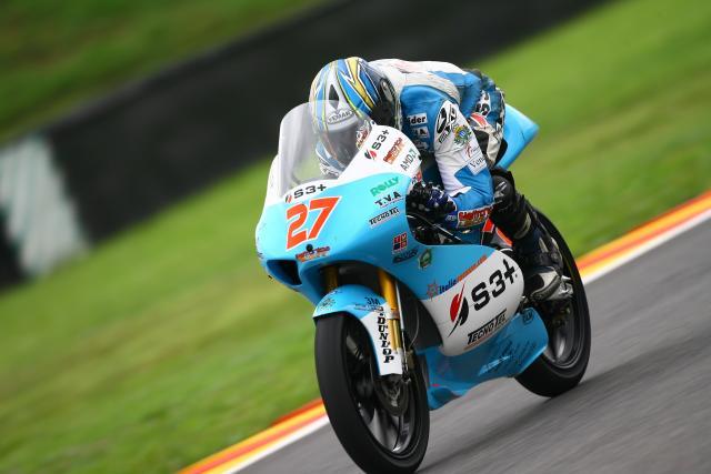 Stefano Bianco 125GP rider