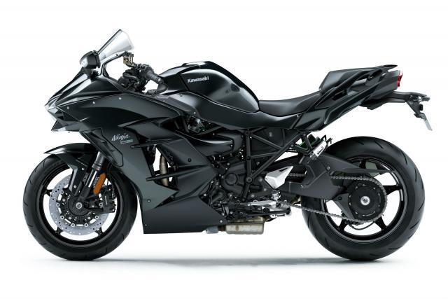 Kawasaki Ninja H2 SX revealed