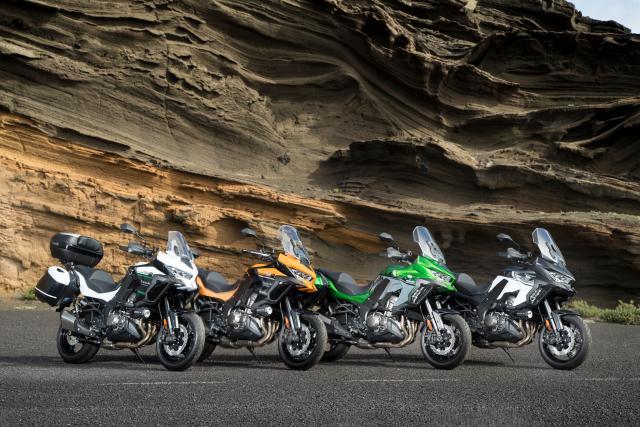 Kawasaki Versys 1000 editions