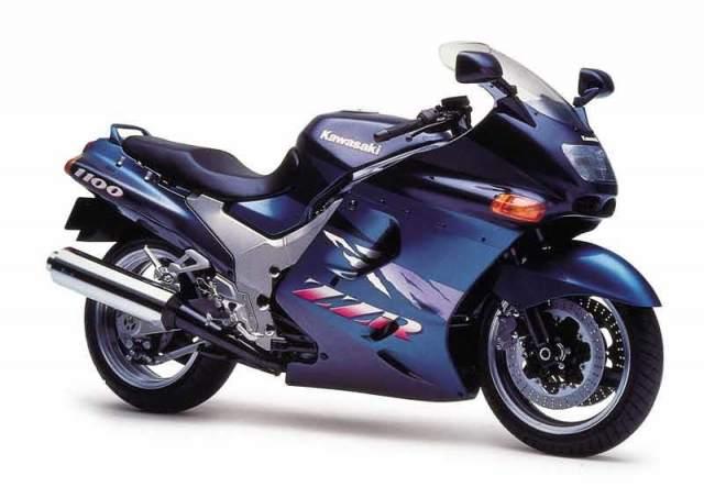 1990-1997, Kawasaki ZZ-R1100
