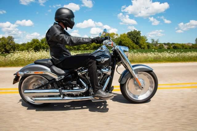 Harley Davidson Fat Boy 114 Cruising