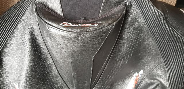 RST TracTech Evo R one-piece leathers