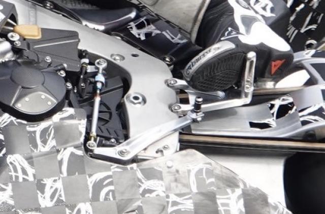 2020 Honda Fireblade testing