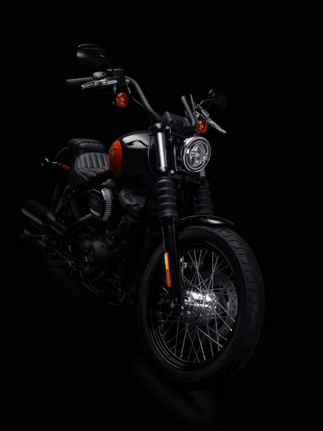 Harley-Davidson 2021 Street Bob 114 very stylish