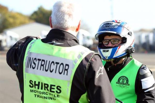 BSB ace Bradley Ray passes his bike test