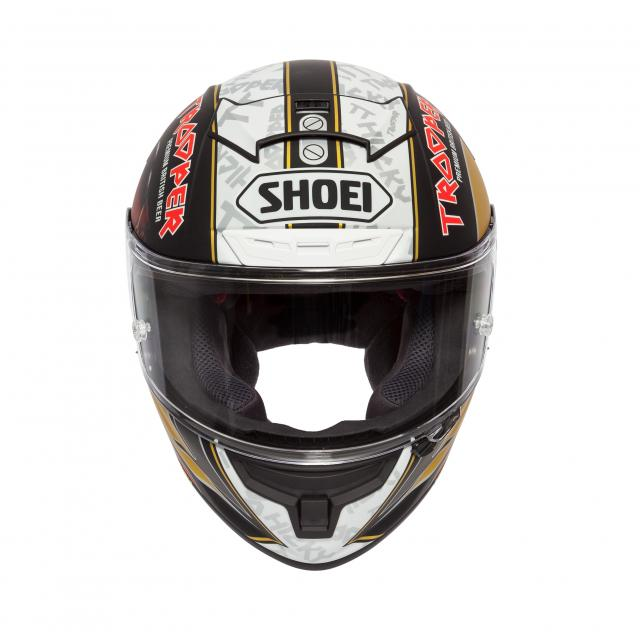 Shoei launches Iron Maiden X-Spirit III