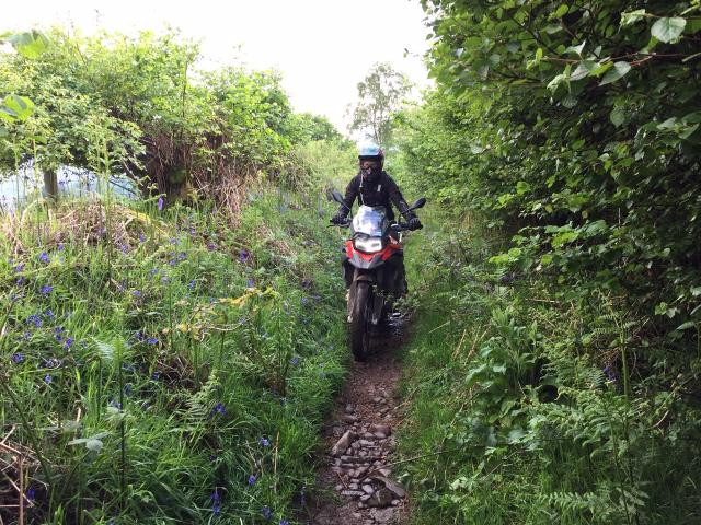 Spankers BMW F850GS Sport UK first ride