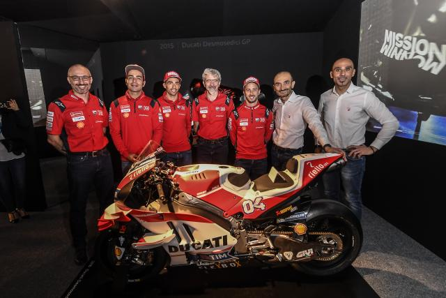 Ducati MotoGP bike and team