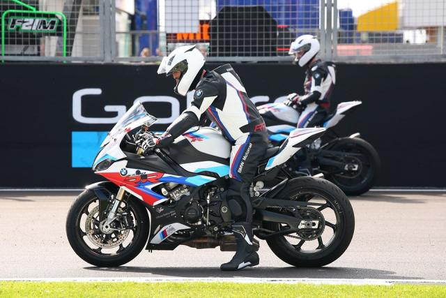 What's it like to line up at the front of the MotoGP grid?
