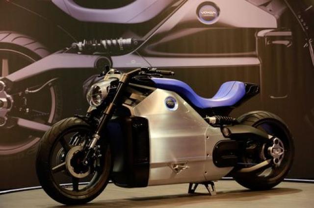 Voxan Wattmann electric motorcycle