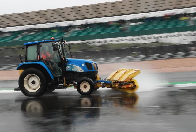 Shambles at Silverstone GP