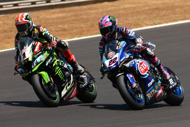 Alex Lowes Jonathan Rea
