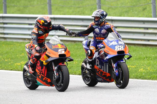 Oliveira Zarco Austrian MotoGP