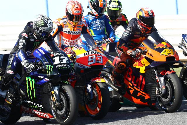 Marc Marquez, field, start