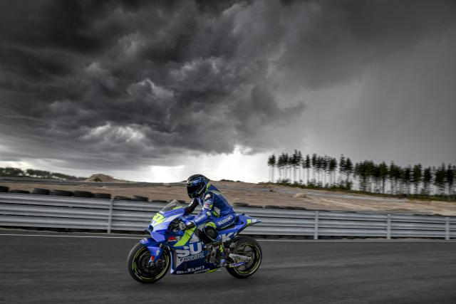 Sylvain Guintoli - Suzuki Ecstar MotoGP KymiRing